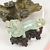 (6) Chinese jade and soapstone carvings