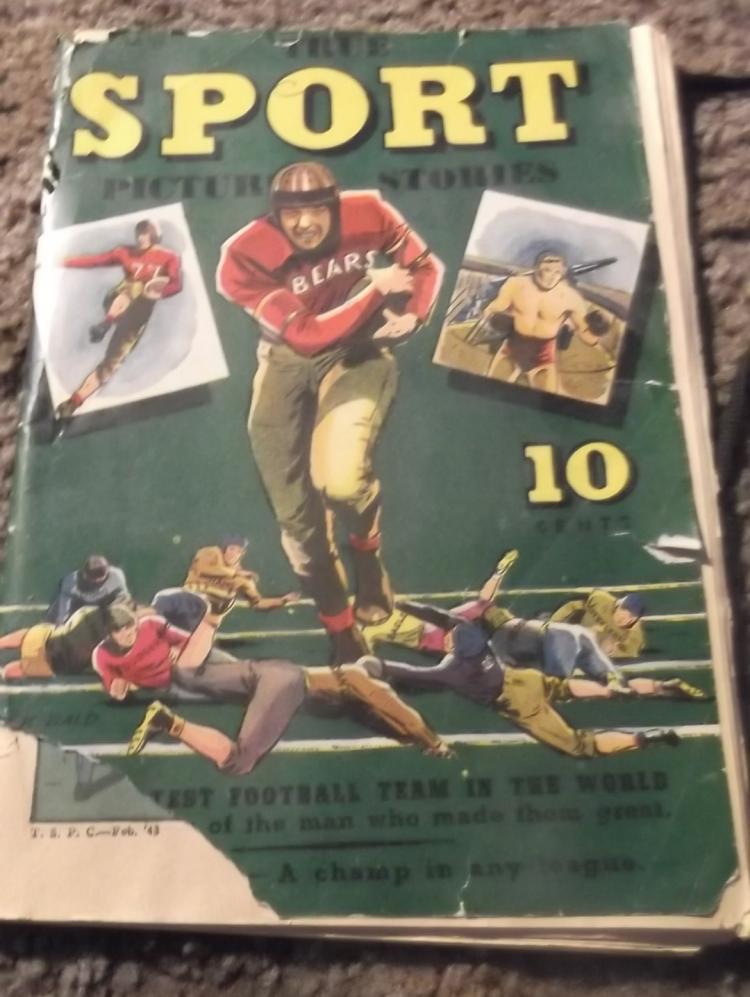 February 1943 True Sport Picture Stories