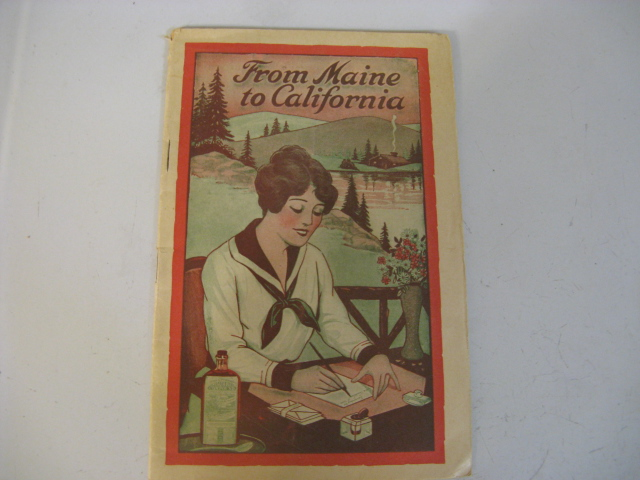 1910'-20'S, NOT SURE, LYDIA E PINKHAM'S MEDICINE BOOKLET