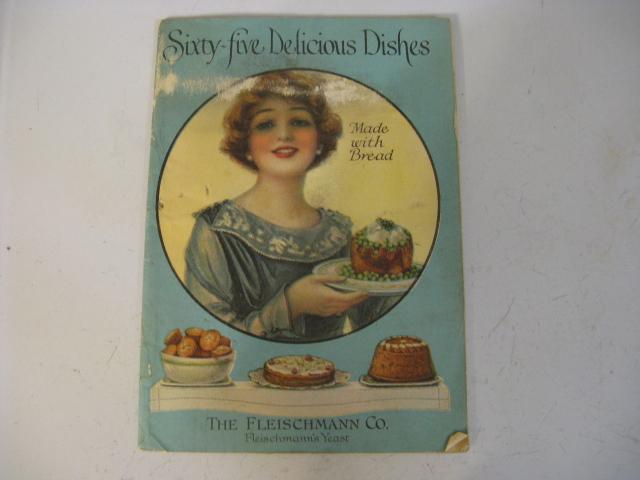 1919 SIXTY FIVE DELICIOUS DISHES, FLEISCHMANN CO, YEAST