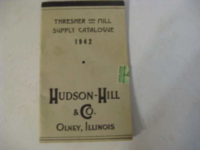 1942 THRESHER AND MILL SUPPLY CATALOGUE