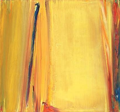 Olivier DEBRE (Paris 1920-1999) L'ocre jaune de