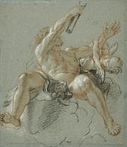 Antoine COYPEL (Paris 1661-1722) Hercule, figure