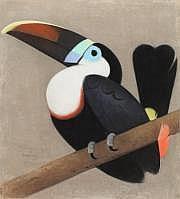 Simon BUSSY (Dôle 1870-Londres 1954) Le toucan