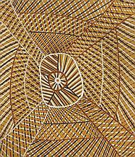 James Patlas Sans titre Acrylique sur toile - 60 x 50 cm Gro