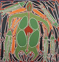 Djambu (Sambo) Barra Barra (c. 1946 - 2005) Sans titre, 2000 Acry