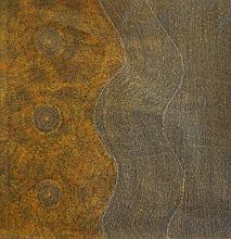 Joyleen Loy Sans titre Acrylique toile – 100 x 95 cm (à vue)