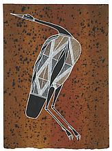 Gershom Garlngarr Sans titre, 1997 Pigments naturels et acrylique