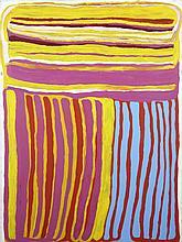 Anmanari Brown (c. 1932 - ) Kungkarankalpa, 2006 Acrylique sur to