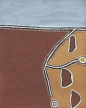 Judy Mengil (c. 1945 - ) Bullo River Country, 2003 Pigments natur