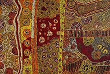 Janice Woods Acrylique sur toile - 156 x 104 cm Groupe Pitjantjat