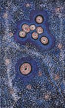 Alma Granites Nungurrayi (1955 - ) Sans titre (7 Sisters Dreaming)