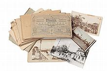 CONSTANTINOPLE. COLLECTION DE PETITES PHOTOGRAPHIES ET CARTES POSTALES VERS