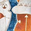 D0559-87 Farid BELKAHIA (1934-2014) Sans titre, 1997 Pigme, Farid Belkahia, €6,000