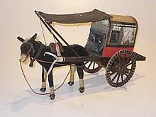 Toy Donkey cart, 50cm
