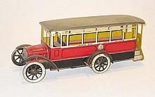 Clockwork Burnett Ltd tinplate English Omnibus