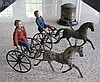 An important Althof Bergman tinplate Jubilee Trotting Course