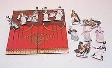 Pollocks paper cut-out Theatre, 18cm x 22cm