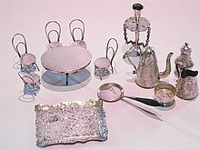 A fine collection of fourteen items of sterling