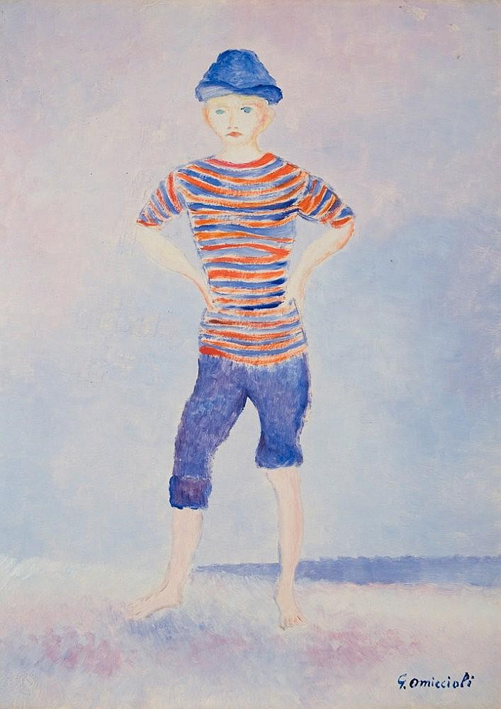 Giovanni Omiccioli (Roma 1901 - 1975) Marinaretto