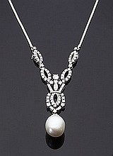 Collier in oro bianco 18 kt
