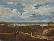 Giovanni Battista Viola (Bologna 1576 - Roma 1662) Paesaggio laziale