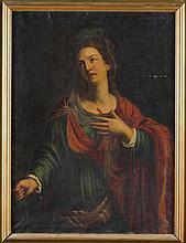 Scuola emiliana, secolo XVII Santa martire