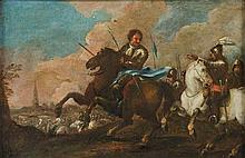 Scuola napoletana, secolo XVII Battaglia