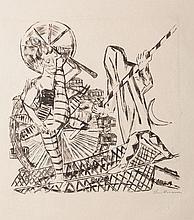 Max Beckmann (Lipsia 1884 - New York 1950)