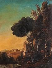 Scuola italiana, inizi secolo XIX La Valle dei Templi ad Agrigento