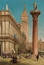 Henry Courtney Selous (Londra 1803 – Beaworthy 1890) Venezia, Piazzetta San Marco