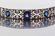 Bracciale in platino, BOUCHERON, realizzato negli anni Trenta