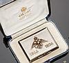 Tabacchiera in argento dorato, Carl Fabergé