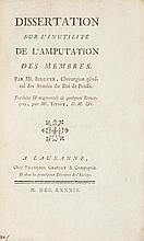 Chirurgia - Bilguer, Johann Ulrich - Tissot, Samuel-Auguste