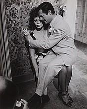 Pierluigi Praturlon (1924-1999) Sophia Loren e Marcello Mastroianni