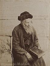 Felix Bonfils (1831-1885) Rabbin juif à Jerusalem, ca. 1870