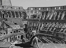 Anonimo Kim Novak in Rome, ca. 1955/60