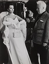 Tazio Secchiaroli (1925-1998) Sophia Loren e Charlie Chaplin, 1966