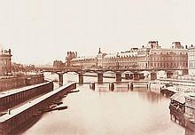 Édouard Denis Baldus (1813-1882) La Grande Galerie, Paris, ca. 1870
