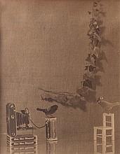 Mario Prandi (1888-1951) Il ritratto per la fidanzata, ca. 1930