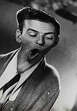 Weegee (1899-1968) Frank Sinatra, ca. 1950
