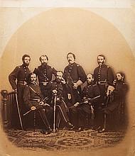 Anonimo Ufficiali della Guerra Civile Americana, ca. 1860