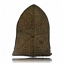 Cameroon Kirdi Leather Shield