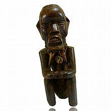 Teke Seated Male Figure