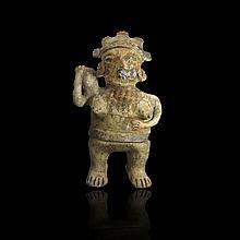 Large Pre-columbian Nayarit Figure