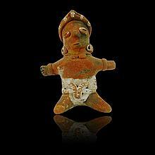 Pre-columbian Colima Seated Figure