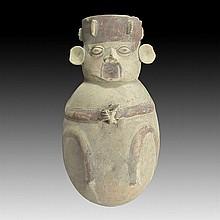 Pre-columbian Chancay Figural Vessel