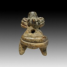 Pre-columbian Jalisco Seated Figure