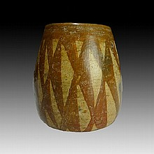 Pre-columbian Nayarit Painted Vessel