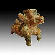 Pre-columbian Jalisco Dog Vessel